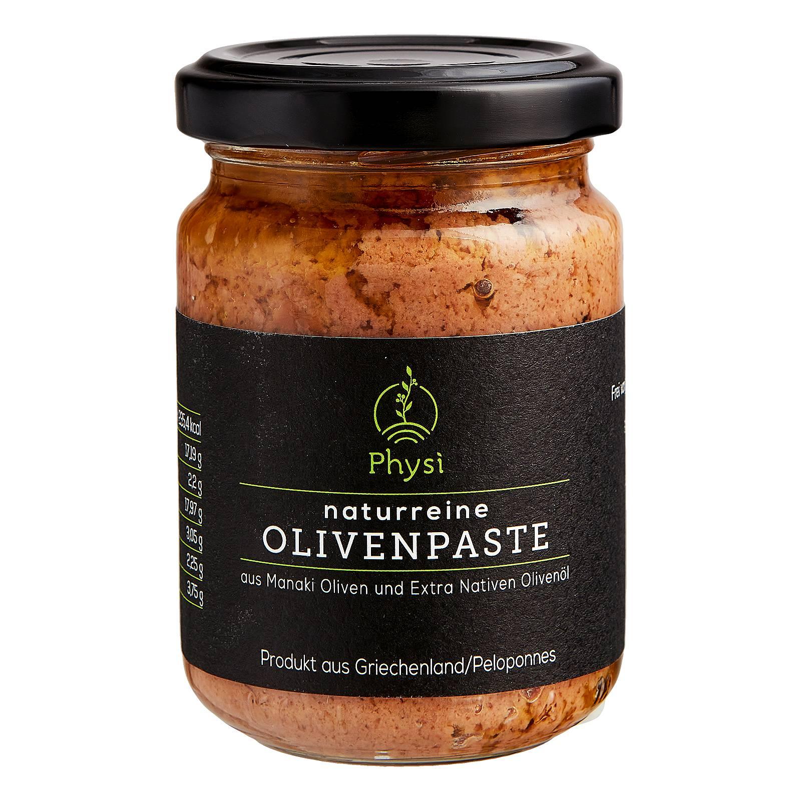 Olivenpaste aus Manaki Oliven