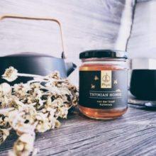Thymian Honig im Glas