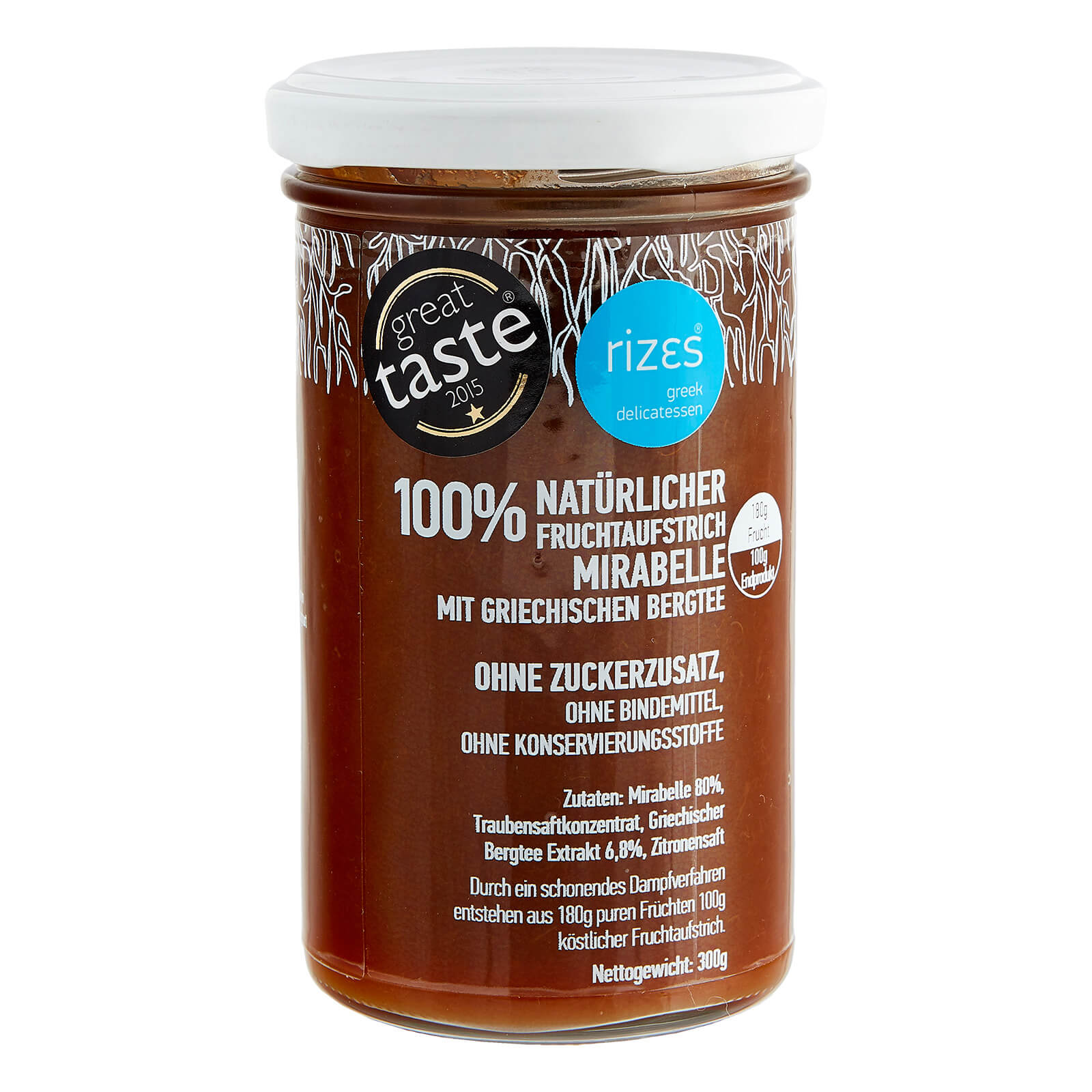 Mirabellen Marmelade ohne Zucker