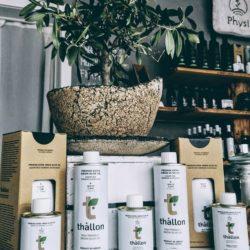 Olivenöle von Thallon im Physi Store Ludwigsburg