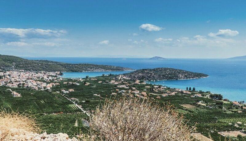 Ermioni auf dem Peleponnes Griechenland