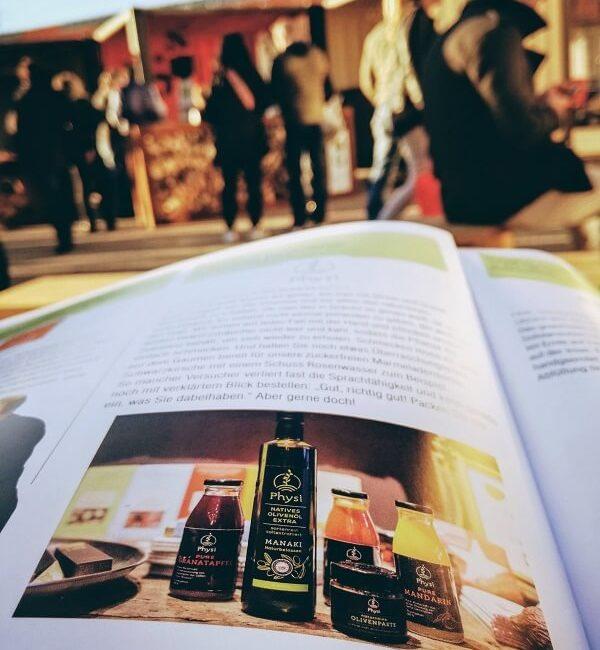 Feinkost Ludwigsburg in einem Magazin