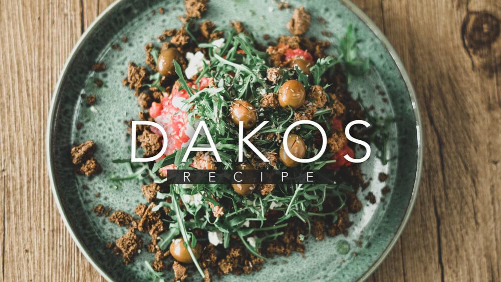 Dakos Rezept von Hey Crete