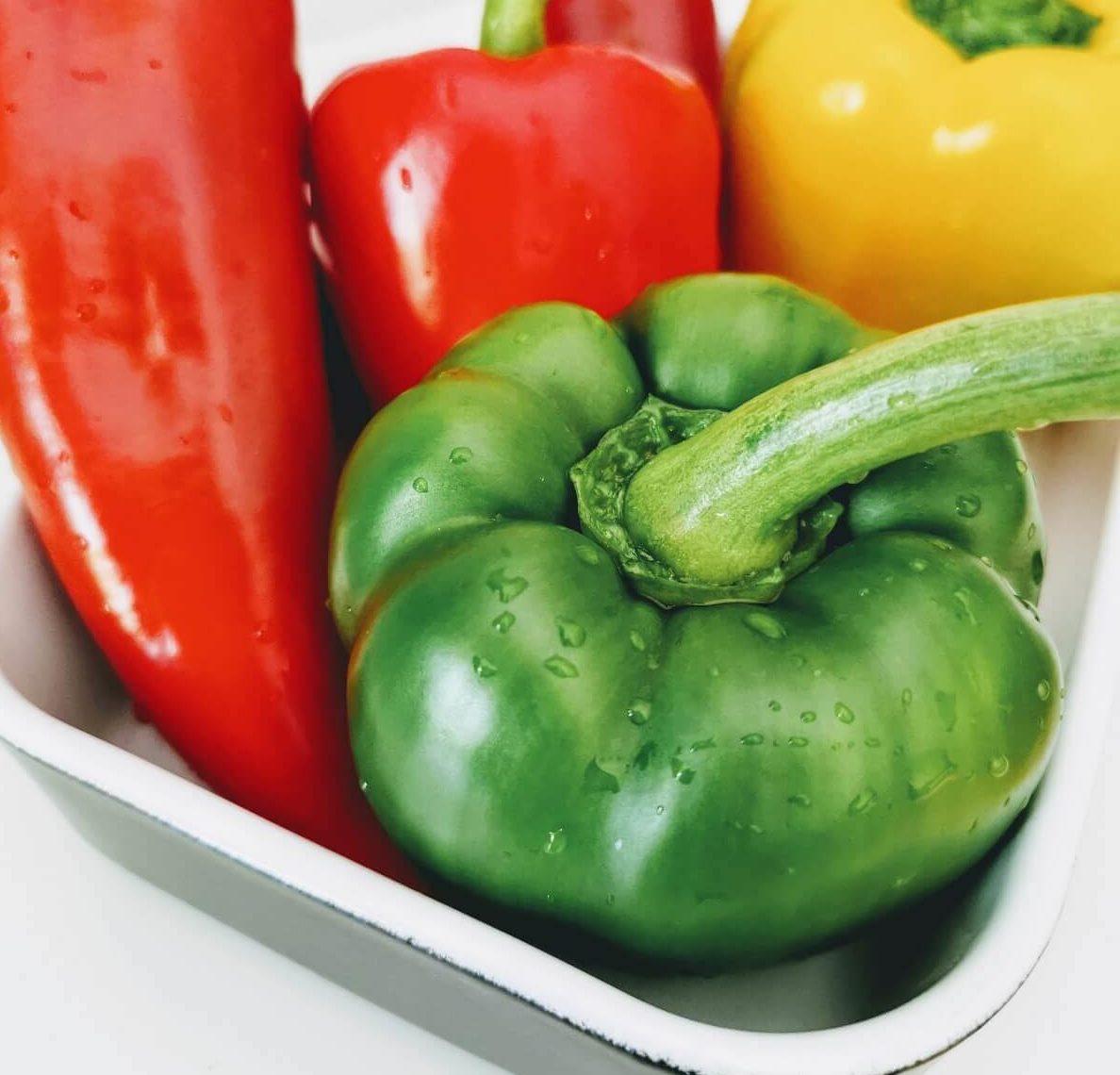 Paprika für ein Spetzofai Rezept