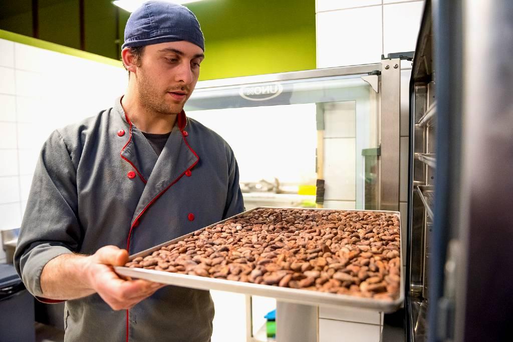 Handgefertigte Bean to Bar Schokoladen