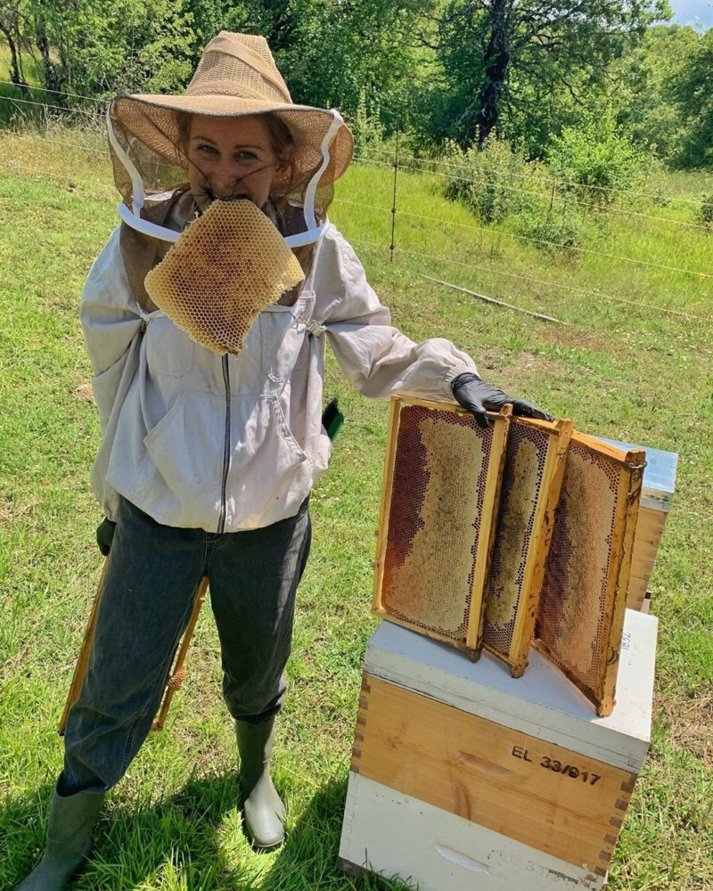 Eleni vom Bio Honig Nomad