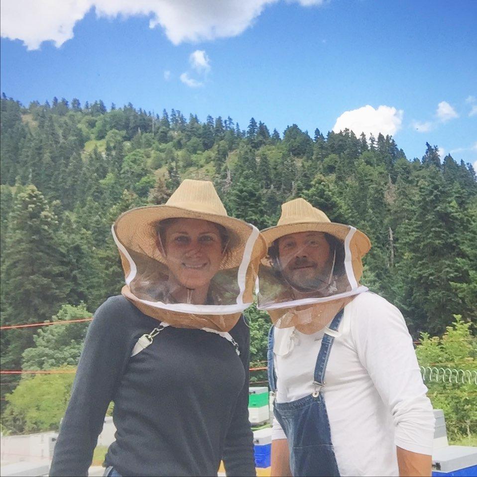 Eleni und Vasilis von Nomad Honey