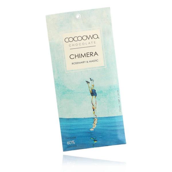 Tafelschokolade mit Rosmarin und Mastix Geschmack