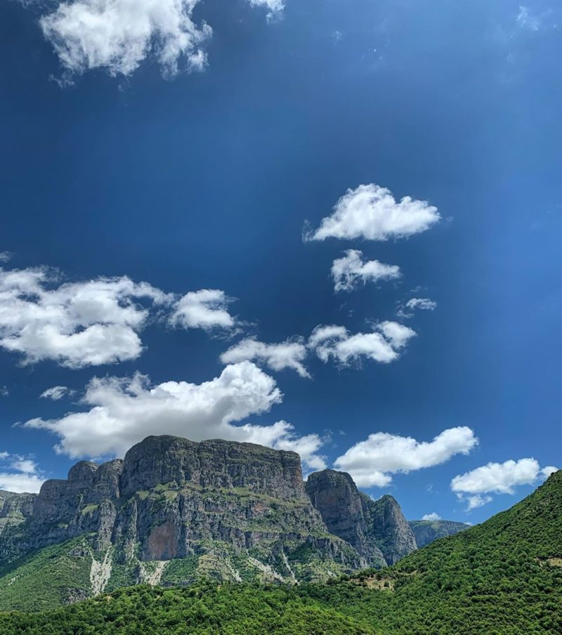 Vikos Gebirge in Griechenland