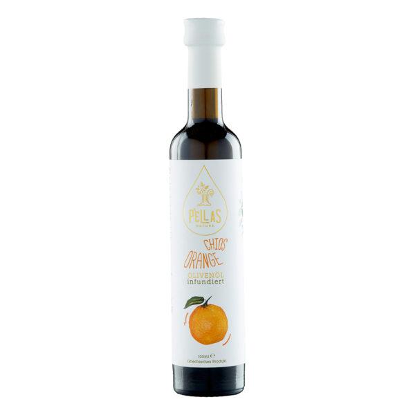 Olivenöl mit Orangen aus Xios