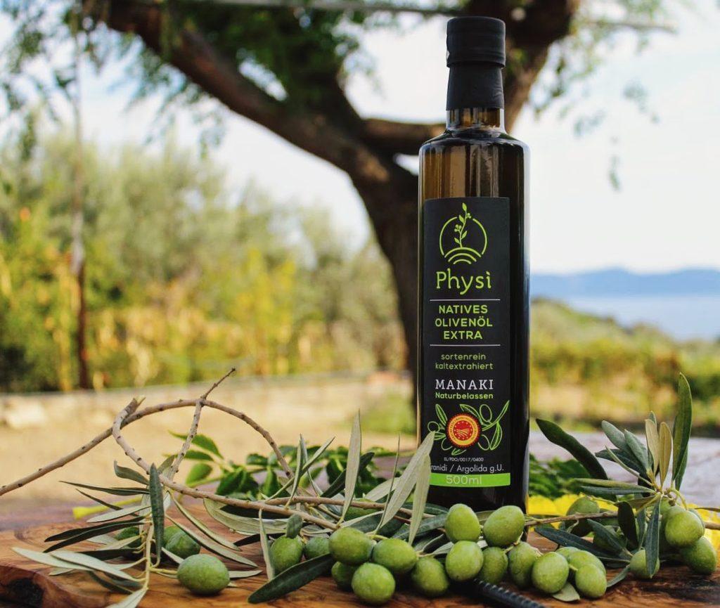 Feinkost Olivenöl von Physi
