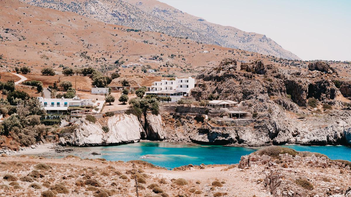 Griechischer Salat oder Bauernsalat auf Kreta