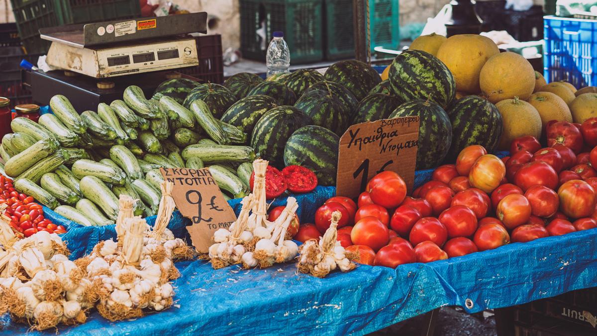 Bauernsalt Rezept mit Zutaten aus Kreta