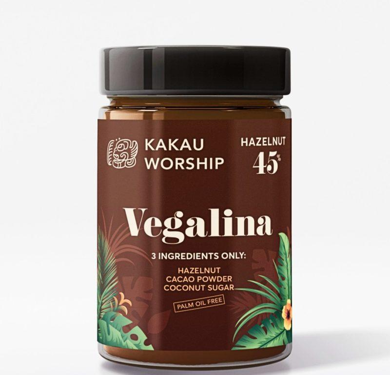 Schokocreme mit Haselnusscreme Vegan und Bio
