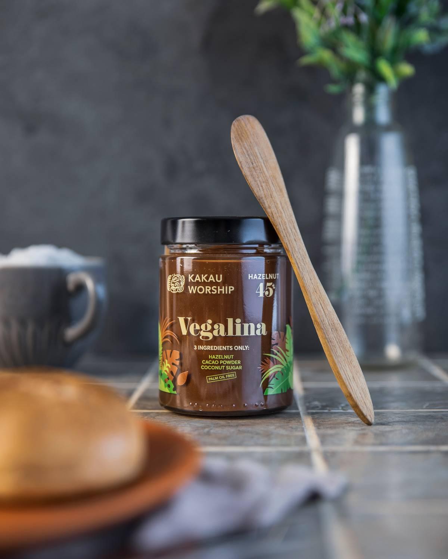 Schokocreme Vegan und Bio im Glas